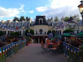 Europa-Park : French quarter by RaynalJacquemin