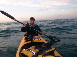 10 Miles Off the Coast of Naples by ClymberPaddler