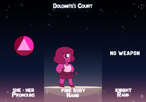 Pink Ruby - Dolomite's Court by sofia68999