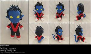 Plushie: Nightcrawler - X-Men by Serenity-Sama