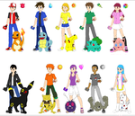 Pokemon Original Series (Special for 20th year) by CamiloSama