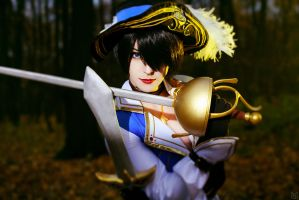 Sharp blade, sharp mind (Fiora, League of Legends) by KandaDream