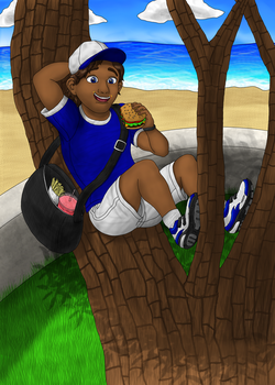 Lunch in a Tree by JerichoBLT