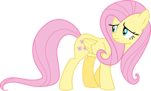 FlutterShy vector by aqua-pony