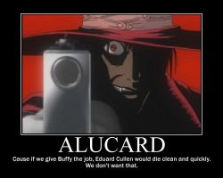 Alucard: Vampire Slayer by uchihaitachi181