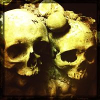 Catacomb Inhabitants by elizabethunseelie