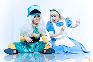 More alice and madd hatter by clefchan