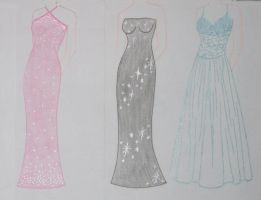Prom Dresses by trinity-lea