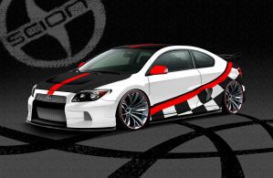 Scion TC Race by Morfiuss