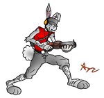 Team Furries 2: Rabbit Scout by RedDiamondFox73