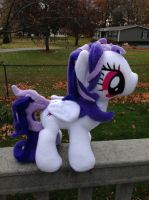 Earth Miracle (Emi) OC plushie by TellabArt