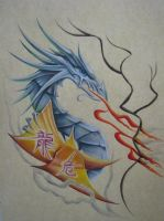 dragon tattoo 2 by vstattoo