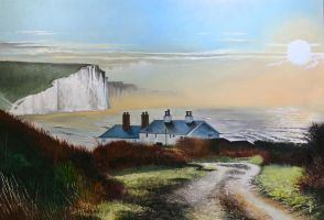 The Seven Sisters by NorthumbrianArtist
