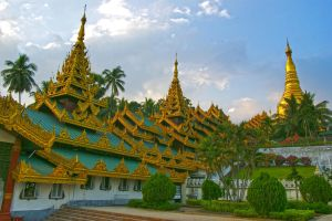 Shwedagon Pagoda  1 by CitizenFresh