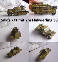 Sdkfz 7 1 mit 2m Flakvierling 38 by Teratophoneus