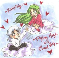 Flying high on cloud 9 by Swamnanthas
