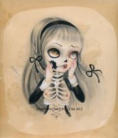 We are just Bones and Poetry by simonacandini