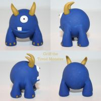 Griff the Timid Monster by TimidMonsters