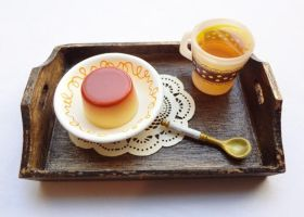 Mini Wooden tray by WaterGleam