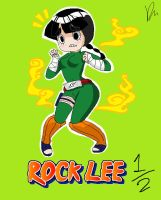 Rock Lee...err....o3o by StarValerian