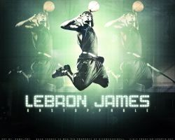Lebron James by home-fry