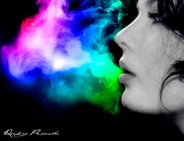 Colored Smoke by rodrigopessanha