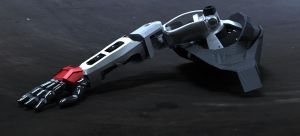 UNSC Prosthetic arm by Dutch02