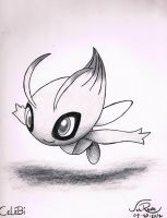 Celebi by johnrenelle