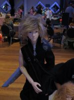 Dolliverse 2013 Cloud Strife by BeforeTheMomentGirl