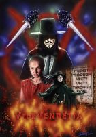V For Vendetta by aaronwty
