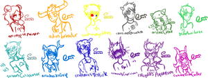 Homestuck Trolls by donuts123