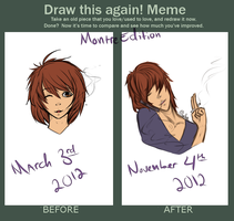 Draw this Again: Montre Edition by squidgender