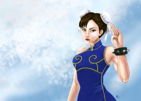 Chunli - No Fight by papythedevil