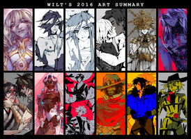 2016 Art Summary by wiltking