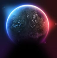 Psd Space Resource Planet by freebiespsd