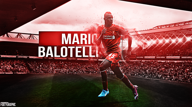 Mario Balotelli wallpaper by Footygraphic