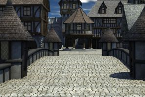 Medieval Village 1 by indigodeep