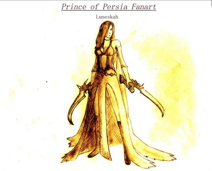 Prince of Persia: Empress of Time by Luneskah