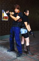 Claire x Leon Cosplay: Welcome to Racoon... by Aletheiia90