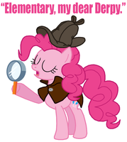 Detective Pinkie Pie by Death-Driver-5000