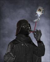 Gravity Darth Vader by Bloody-Daggers