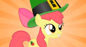 Applebloom is a Leprechaun by Darkone10