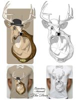 L.A: The Deer T's by PoshOne