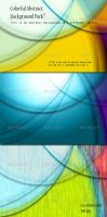Colorful Abstract Backgrounds by kh2838