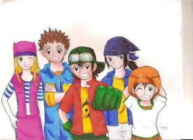 digimon frontier by mikkup