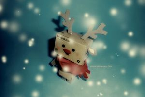 Danbo: Snow Drop by eivven