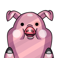 Waddles says 'Hi!' from the internet world by Ice-Fire-Bolt