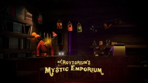 Night of The Living Update 2, Mystic Emporium by Createvi