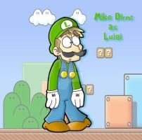 Super Mario Model 2- Mike by GreenDayComix