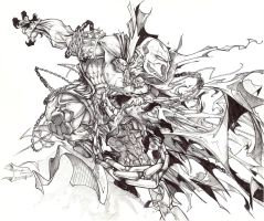 spawn with bic pen by SurfaceNick